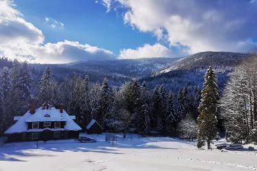 Ośrodek Górski Kordon zimą